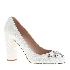 Collection Etta jeweled sequin pumps//