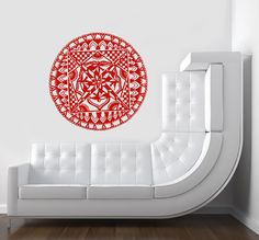 Mandala Decals Instinct Mandala Pattern Vinyl by LollipopDecals