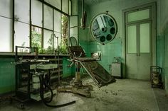Photographer Thomas Windisch Explores The Abandoned Mental Asylums Across Italy