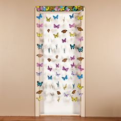 Butterfly Hanging Doorway Curtain - OrientalTrading.com