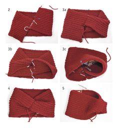 Hand Knitted Headband Turban By Jpalknit Merino Headband - Diy Crafts Knitting Stitches, Hand Knitting, Knitting Patterns, Crochet Patterns, Diy Crafts Knitting, Diy Crafts Crochet, Crochet Bikini, Knit Crochet, Crochet Hats