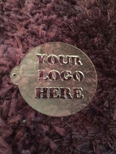 Your logo or design. Unique to you Coffee Stencils, Bar Set, Coffee Love, Projects To Try, Just For You, Logos, Design, Unique, Creative