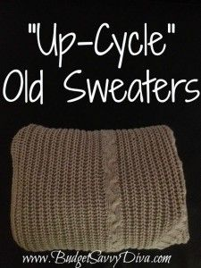 """""""Up-Cycle"""" Old Sweaters - leg warmers, infinity scarf, and more!"""