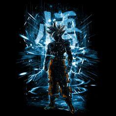 Ultra Instinct Storm de Kharmazero - Maglietta ispirata in Dragon Ball Dark Goku, Dont Touch My Phone Wallpapers, Saga Dragon Ball, Goku Super, Cool Logo, Fan Art, Goku Ultra Instinct, Naruto Minato, Skull Wallpaper