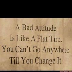 Attitude just might be everthing...or at least sometimes!