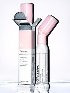 Three beauty editors share their honest thoughts about Glossier's buzzy Bubblewrap eye cream, which can also be used on the lips. Hydrating Eye Cream, Firming Eye Cream, Lip Cream, Laura Mercier, Best Drugstore Eye Cream, Best Under Eye Cream, Multifunction Eye Cream, Products, Make Up