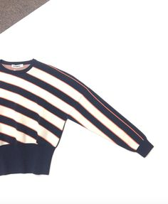 Jil Sander structured striped sweater in size 4 #shopgh2 #shoplocal #minneapolis #resale #consignment #jilsander
