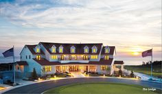 Arcadia Bluffs, Michigan for reception (on golf course with great view of sunset over lake mi)