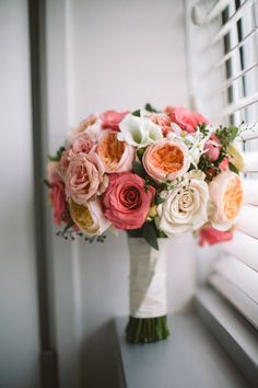 Art Lovers Philadelphia Wedding from  Ethan Yang Photography - bridal bouquet