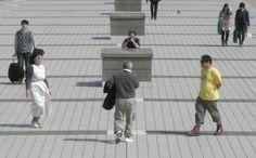 "Sakiko Yamaoka (Japan), ""Targeting zigzag"", Tokyo, Japan, 2012 | Video: http://www.youtube.com/watch?v=e631ZQ0fs1I"