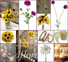 sunflower Mason Jar Centerpieces | Mason Jar Photo Credit: Courtney Bowlden ~ Votives & Vases: L ...