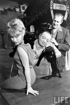 Vincent Price & Peter Lorre audition black cats