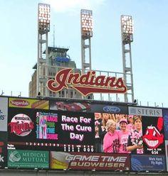 Indians Stadium, Cleveland, OH redrocket3