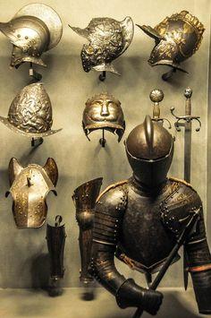 Italian and Milanese Armour at Poldi Pezzoli Museum, Milan Italy