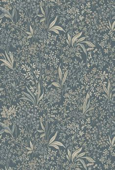 The wallpaper Nocturne Mural - 7291 from Boråstapeter is a wallpaper with the dimensions x m. The wallpaper Nocturne Mural - 7291 belongs to the popular Of Wallpaper, Pattern Wallpaper, Tapestry Wallpaper, Style Vintage, Vintage Fashion, Green Floral Wallpaper, Meme Design, Vintage Floral Wallpapers, Blue And Green
