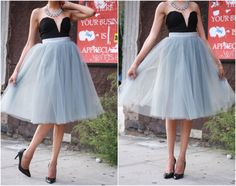I need a tulle skirt like this