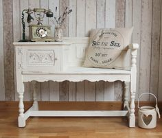 Solid Wood Shabby Chic French Farmhouse by Foundintheloft on Etsy, £120.00