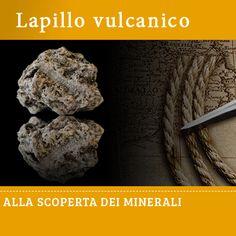 Lapillo vulcanico #edicola #collezione #minerale
