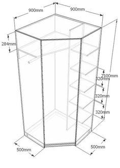 гардеробные системы размеры - Поиск в Google