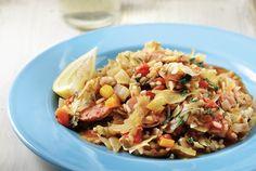 Λαχανόρυζο Rice Pasta, Pasta Salad, Greek Recipes, Vegan Vegetarian, Potato Salad, Food To Make, Grains, Favorite Recipes, Beef