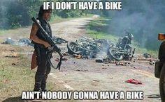Daryl Wants A Bike