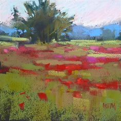 """Daily Paintworks - """"An Idea for Keeping Paintings Simple"""" - Original Fine Art for Sale - © Karen Margulis"""