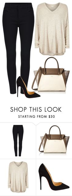"""All of me"" by thefashionguilty on Polyvore featuring moda, Vince Camuto, River Island, Christian Louboutin, women's clothing, women, female, woman, misses y juniors"