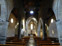 Interior de la Iglesia de Santiago en Ciudad Real