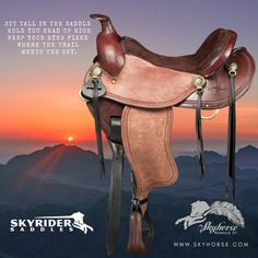 Trail Saddle, Western Tack, Saddles, Westerns, Roping Saddles