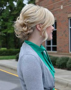 Pretty-Simple-Updo-for-Short-Hair.jpg 500×632 pixels
