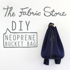 9f0720d6765d This weeks project is a Neoprene Bucket Bag inspired by a DIY... Carteira