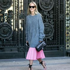 Charlotte Groenveld wearing the Jimmy Choo ROSANA pump at #PFW {Regram: @fashionguitar }