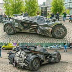 Awesome Car Batman Tumbler Gumball 3000