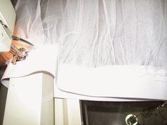 Tutorial para hacer un tutú de ballet de plato con aro.   Si Coppelia vistiera de Prada Tutu Ballet, Dance Crafts, Sewing Clothes, Prada, Couture, Outfit, Carnival, Mosque, Make A Skirt