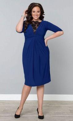 Ver Modelos De Vestidos Para Gorditas En Color Azul