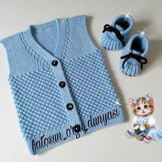 Kichererbsen stricken Baby Weste Modellbau - DIY and crafts - Baby Knitting Patterns, Youtube Crochet Patterns, Knitting For Kids, Easy Knitting, Crochet For Kids, Baby Patterns, Baby Cardigan, Baby Pullover, Crochet Baby Sweaters