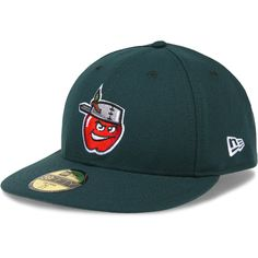 1657d59d777 Fort Wayne TinCaps Authentic Collection Low Crown On-Field 59FIFTY Home Cap  - MLB.