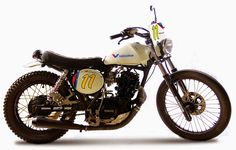 1986 YAMAHA XT600 DIRT TRACK - BLACK BULL RACING - ROCKETGARAGE