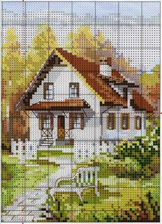 Thrilling Designing Your Own Cross Stitch Embroidery Patterns Ideas. Exhilarating Designing Your Own Cross Stitch Embroidery Patterns Ideas. Cross Stitch House, Cross Stitch Art, Cross Stitching, Cross Stitch Embroidery, Embroidery Patterns, Funny Cross Stitch Patterns, Cross Stitch Designs, Cross Stitch Geometric, Cross Stitch Landscape