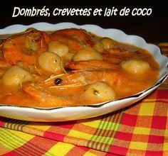 Dombrés aux crevettes et au lait de coco #Recette