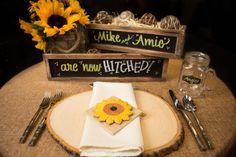 Sunflower theme wedding decoration cookies
