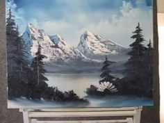 Paint With Kevin Hill - Frozen Mountain
