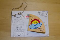 Primera carta recibida!! #buzoncreativo #cartas #sobres #arte #art #idea #creative #mail #spain #correo #penpal #correspondencia #inspiracion #inspiration #letters #buzon #draw #dibujos