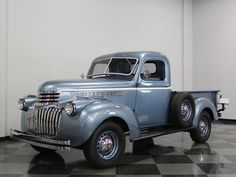 1945 Chevrolet 1/2 Ton Pickup Maintenance of old vehicles: the material for new cogs/casters/gears/pads could be cast polyamide which I (Cast polyamide) can produce
