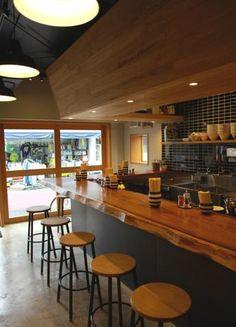 Retail Interior, Restaurant Interior Design, Cafe Shop, Cafe Bar, Pork Restaurant, Coffee Shop Photography, Zen Interiors, Bakers Kitchen, Small Space Kitchen