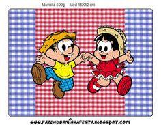 Resultado de imagem para festa chico bento e rosinha Chico Bento, Winnie The Pooh, Disney Characters, Fictional Characters, Bernardo, Banana, Mini, Sweet Like Candy, Diy Home