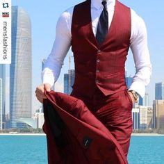 Latest Coat Pant Designs Burgundy Men Suit Slim Fit Tuxedo Skinny 3 Piece Groom Blazer Custom Style Prom Suits Terno Masculino