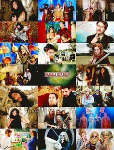 The entire cast of Horrible Histories. Because they're all lovely, brilliantly funny and even though it's a Children's TV show it's one of my absolute favourites :-)