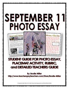 September 11th Photo Essay Rubric - image 11