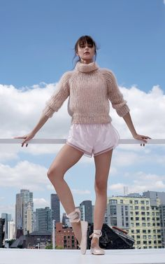 Maiami x Moda Operandi #knitwear #wool #handknit